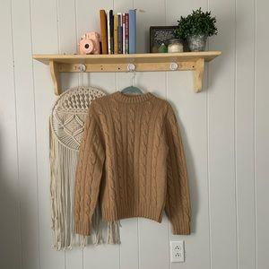PENDLETON 100% wool beige sweater